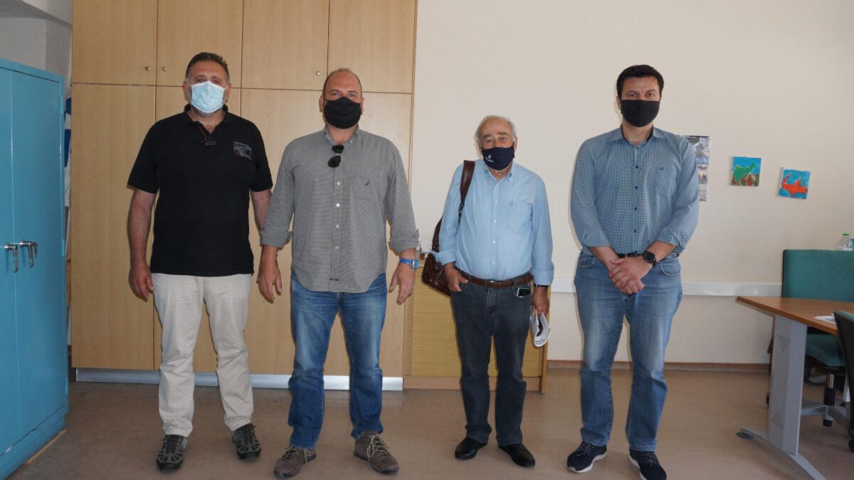 Συνάντηση κλιμακίου του ΚΚΕ με την Ένωση Αστυνομικών Υπαλλήλων Κέρκυρας