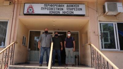 Συνάντηση κλιμακίου του ΚΚΕ με την Ένωση Υπαλλήλων Πυροσβεστικού Σώματος Κέρκυρας