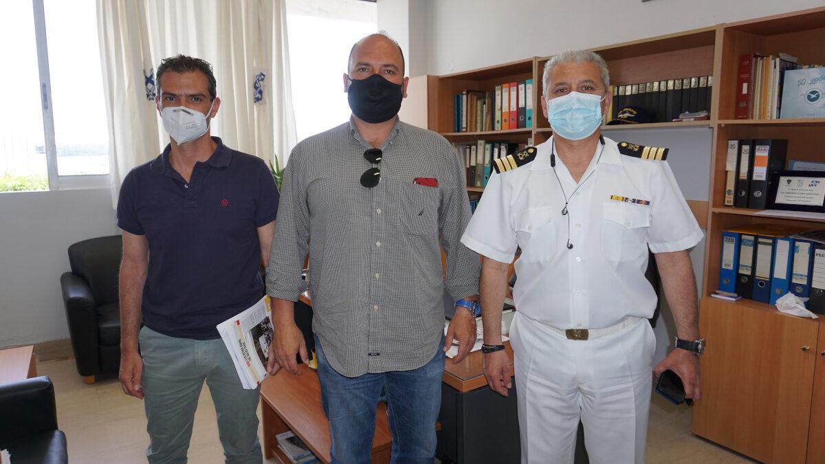 Συνάντηση κλιμακίου του ΚΚΕ με τον Υπολιμενάρχη Κέρκυρας