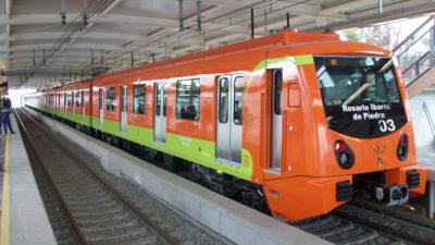 Συρμός του Μετρό στο Μέξικο, πρωτεύουσα του Μεξικό