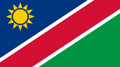 Η σημαία της Ναμίμπια