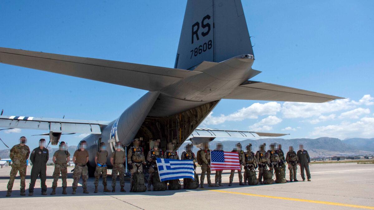 """Συνεκπαίδευση ελληνικών και αμερικανικών ειδικών δυνάμεων """"Stolen Cerberus"""""""