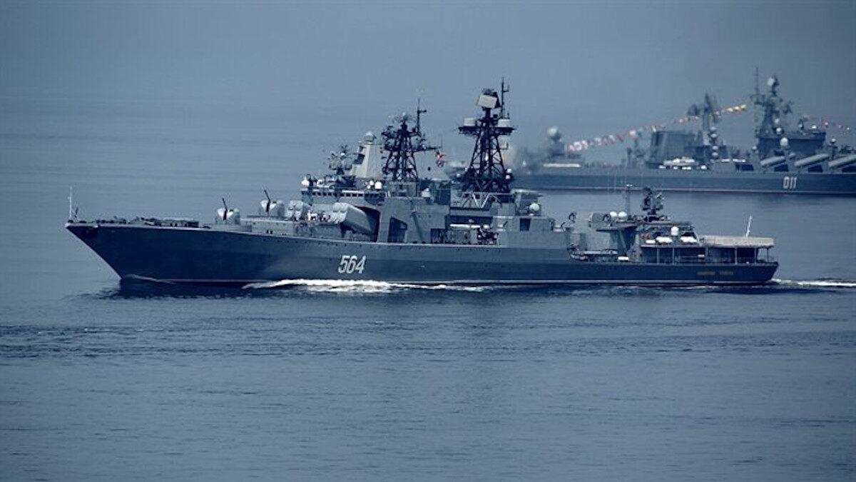 Φώτο Αρχείου / Ρωσικό Αντιτορπιλικό Ναύαρχος Τριμπούτς (D564), Στόλος Ειρηνικού Ρωσικής Ομοσπονδίας / Πηγή: Russian fleet