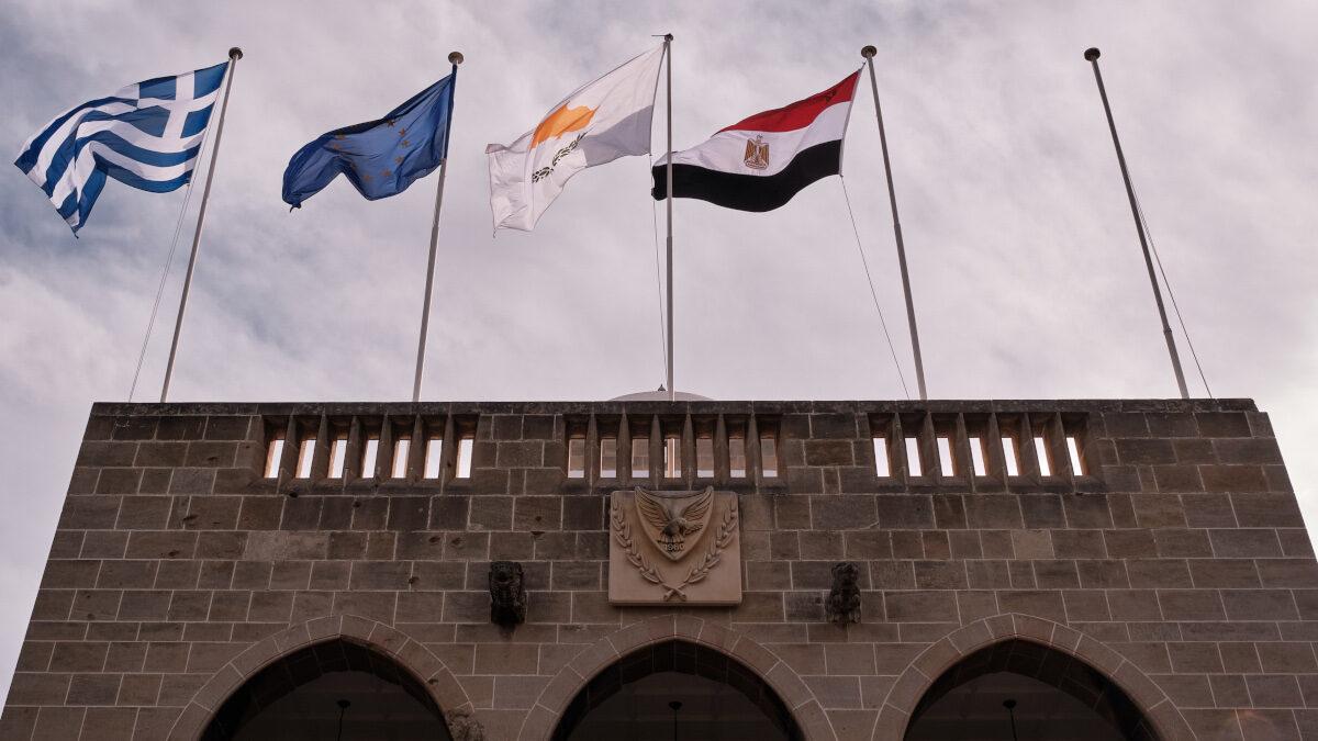 Τριμερής συνάντηση Ελλάδας Κύπρου Αιγύπτου στη Λευκωσία - Νοέμβριος 2020