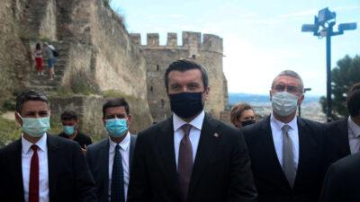 O υφυπουργος ΥΠΕΞ της Τουρκίας, Γιαβούζ Σελίμ Κιράν, στη Θεσσαλονίκη