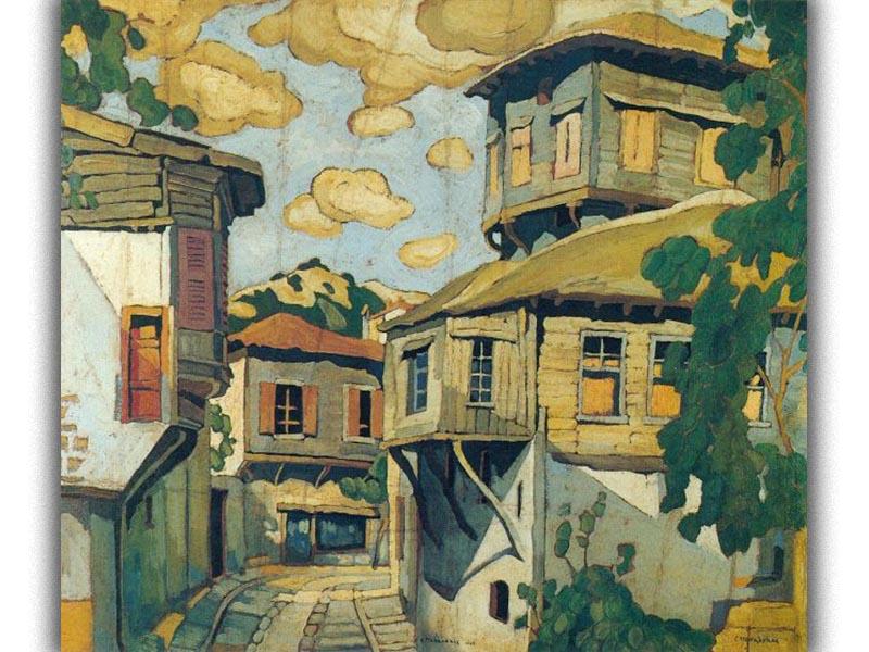 Πολιτισμός - Ζωγραφική - Σπύρος Παπαλουκάς