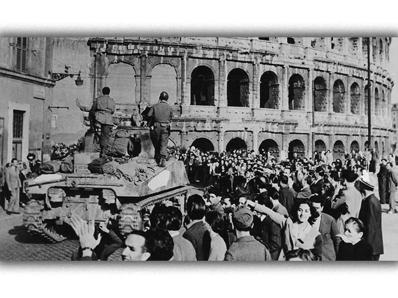 Β'ΠΠ - Ιταλία - Ρώμη - Απελευθέρωση, 1944