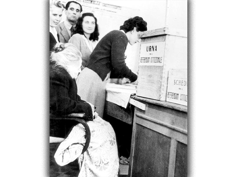 Ιταλία - Δημοψήφισμα κατά ή υπέρ της μοναρχίας, 1946