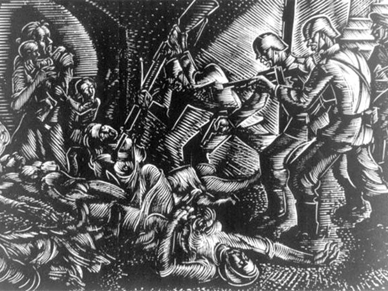 Β'ΠΠ - Ελλάδα - Σφαγή Διστόμου, 1944