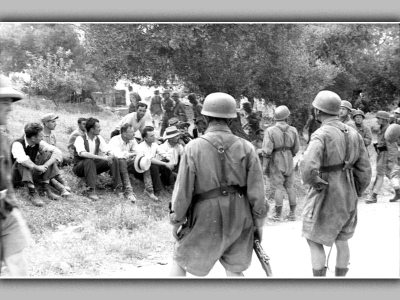 Β'ΠΠ - Ελλάδα - Κρήτη - Σφαγή στο Κοντομαρί, 1941