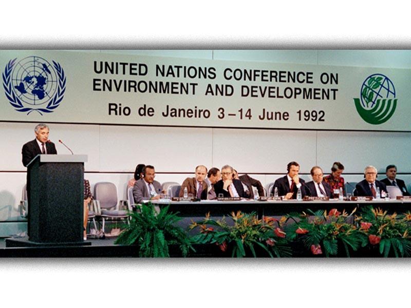 ΟΗΕ - παγκόσμια διάσκεψη για την προστασία του περιβάλλοντος - Ριο ντε Τζανέϊρο 1992