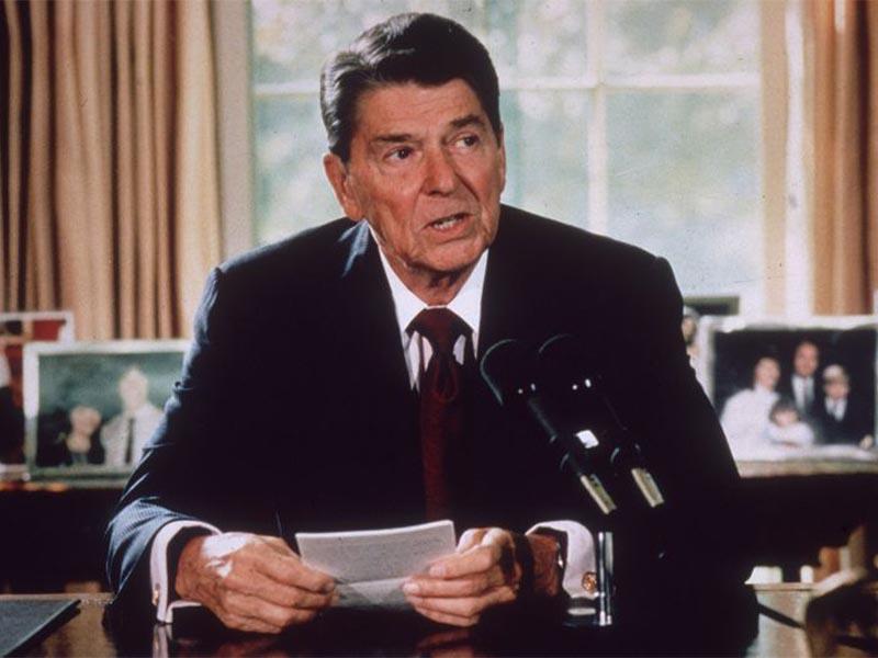 ΗΠΑ - Προεδρία - Ρόναλντ Ρήγκαν - αντικομμουνισμός