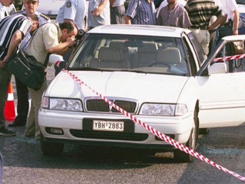 Οργάνωση 17 Νοέμβρη - δολοφονία Σάντερς, 2000