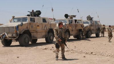 Γερμανικός Στρατός -Bundeswehr - Γερμανικά - Νατοϊκά στρατεύματα στο MAZAR-E-SHARIF, Αφγανιστάν