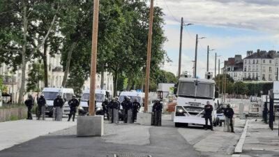 Καταστολή διαδηλώσεων στη Γαλλία