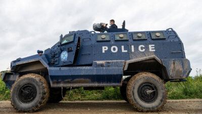 Το «ηχητικό κανόνι» LRAD, όπλο που προορίζεται αποκλειστικά για την καταστολή πλήθους - Εδώ στον Έβρο