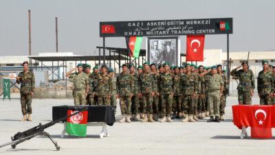 Καμπούλ, Αφγανιστάν - Τελετή αποφοίτησης αξιωματικών του Αφγανικού Στρατού που εκπαιδεύτηκαν από τις Τουρκικές Δυνάμεις του Στρατού - 2010