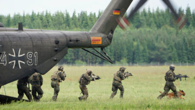 Γερμανικός Στρατός -Bundeswehr - Άσκηση των ειδικών δυνάμεων της Γερμανίας KSK το 2017