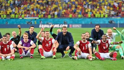 Η εθνική ομάδα της Αυστρίας