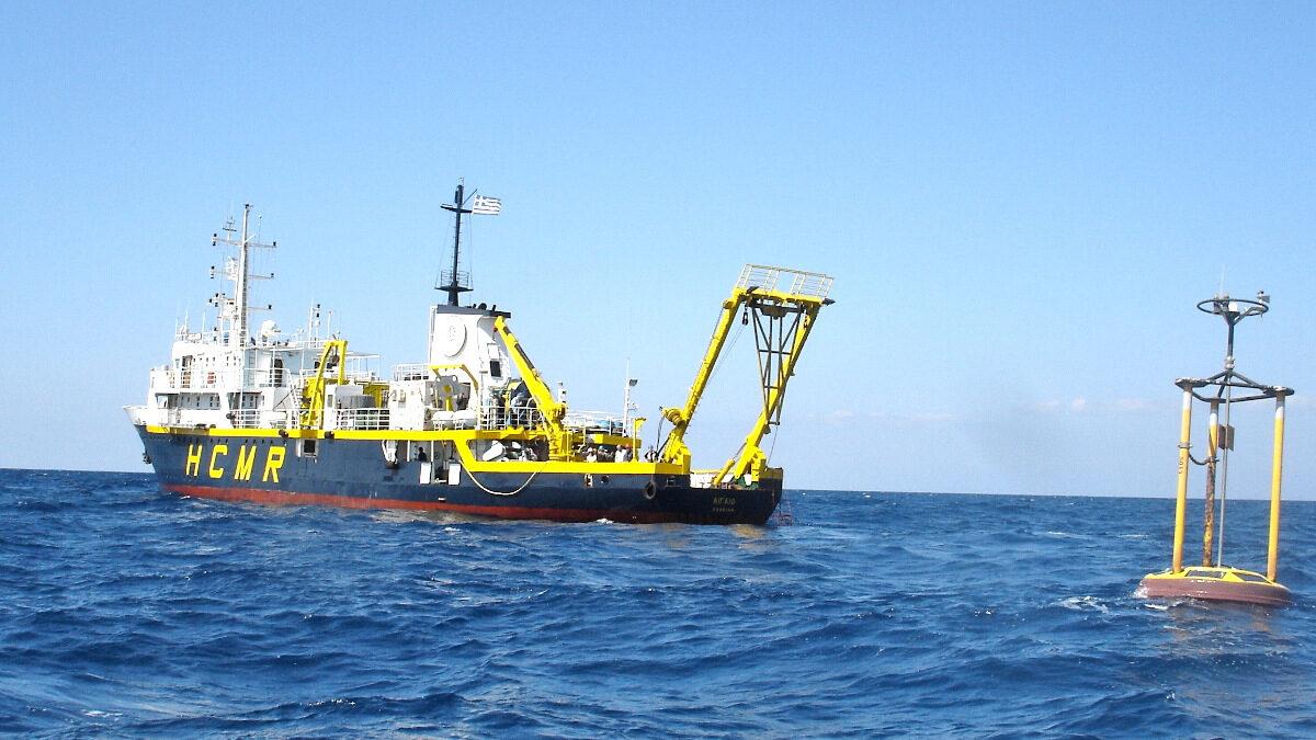 Φιλία, Ερευνητικό σκάφος του ΕΛΚΕΘΕ (Εθνικού Κέντρου Θαλασσίων Ερευνών)