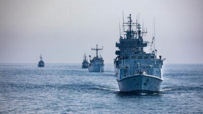"""Πολεμικά πλοία συμμετέχουν στην άσκηση """"Baltops 50"""" στην Βαλτική θάλασσα"""