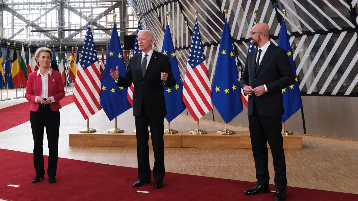 Διάσκεψη κορυφής Ευρωπαϊκής Ένωσης - ΗΠΑ, Τρίτη 15 Ιουνίου 2021.