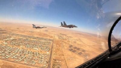 Ολοκληρώθηκε η διμερής άσκηση (Live Exercise) Ελλάδας και Βασιλείου της Σαουδικής Αραβίας με την επωνυμία «FALCON EYE - 2» , που διεξήχθη από 24 Μαΐου έως και 02 Ιουνίου 2021, στην Αεροπορική Βάση King Faisal στο Tabuk του Βασιλείου της Σαουδικής Αραβίας