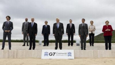 Σύνοδος G7 στην Κορνουάλη, Ηνωμένο Βασίλειο - Ιούνιος 2021