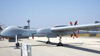Το Μη Επανδρωμένο Αεροσκάφος (UAV) Heron