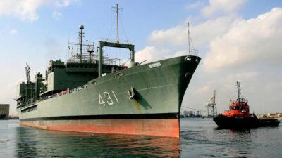 Φώτο Αρχείου / Πλοίο Γενικής Υποστήριξης (ΠΓΥ) «IRIS Kharg» (431) του Πολεμικού Ναυτικού του Ιράν
