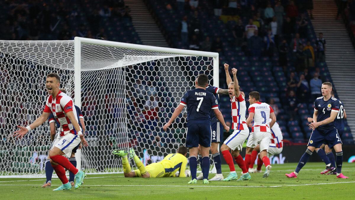 Ευρωπαϊκό Πρωτάθλημα: Κροατία - Σκωτία 3-1