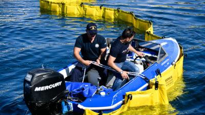Λ.Α. Πρέβεζας: Πραγματοποίηση άσκησης καταπολέμησης ρύπανσης θαλάσσιου περιβάλλοντος