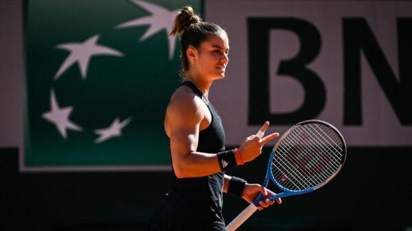 Η Μαρία Σάκκαρη στο γαλλικό τουρνουά τένις ROLAND GARROS 202