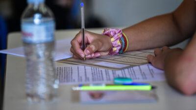 Μέρα Πανελλαδικών Εξετάσεων - Μαθητές