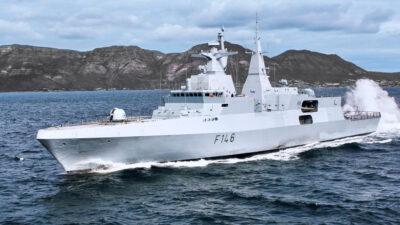 Γερμανική Φρεγάτα τύπου ΜΕΚΟ Α-200 τεχνολογίας stealth
