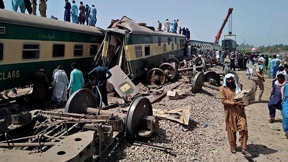 Σύγκρουση τρένων στο Πακιστάν