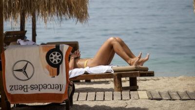 Παραλίες Αττικής - Ηλιοθεραπεία - Καλοκάιρι 2021