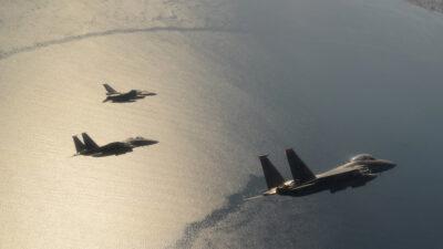 Ολοκληρώθηκε η διμερής άσκηση Ελλάδας και ΗΠΑ με την επωνυμία «POSEIDON΄S RAGE», που διεξήχθη από 28 Μαΐου έως και 11 Ιουνίου 2021 σε περιοχές σε όλη την Ελλάδα. Για το σκοπό αυτό, μεταστάθμευσαν στην Αεροπορική Βάση της Σούδας μαχητικά αεροσκάφη F-15Ε της US Air Forces in Europe (USAFE) και το αντίστοιχο προσωπικό υποστήριξης τους.