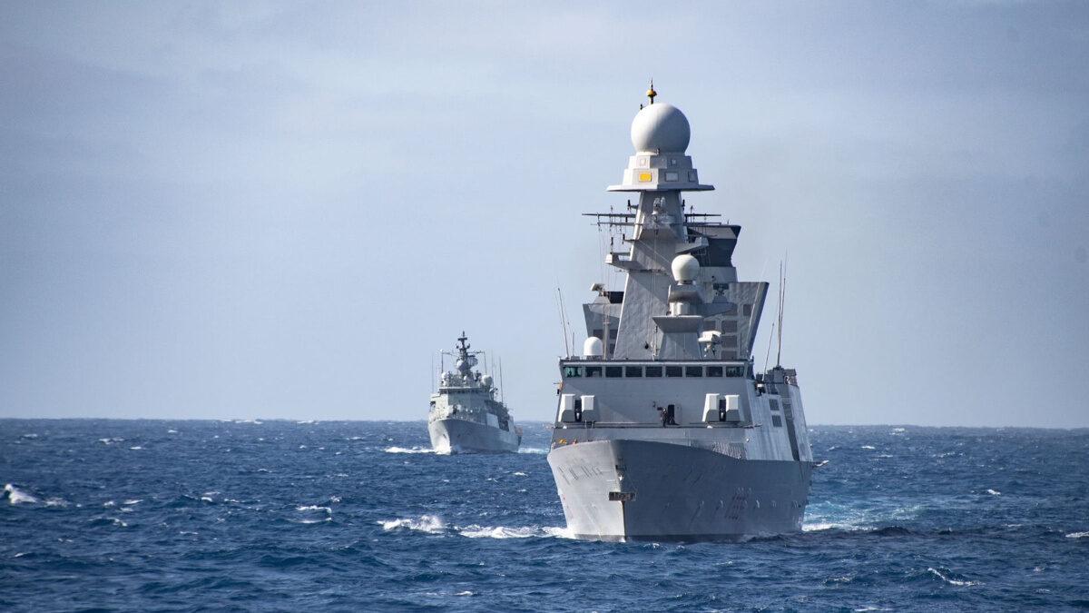 Η Νατοϊκή αρμάδα SNMG2 στη Μαύρη Θάλασσα - ΝΑΤΟ - Πολεμικά πλοία