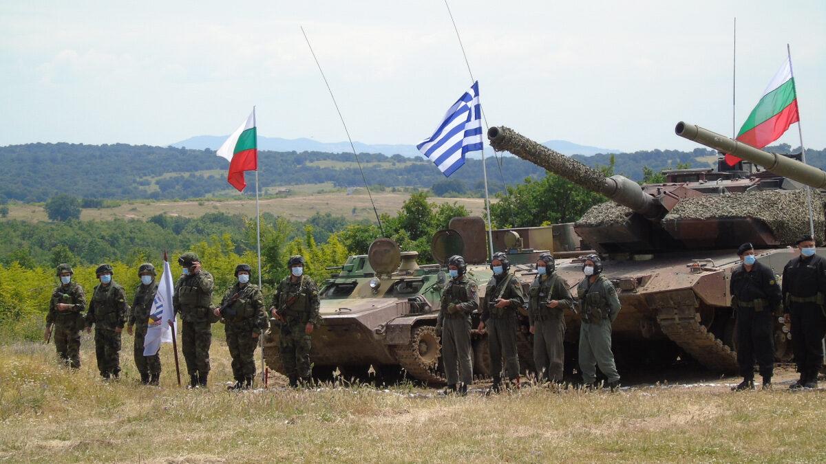 Ημέρα Διακεκριμένων Επισκεπτών της Άσκησης «STRIKE BACK-21» στο Κορέν της Βουλγαρίας. Δευτέρα 7 Ιουνίου 2021 (EUROKINISSI / Γ.Τ. ΓΕΣ )