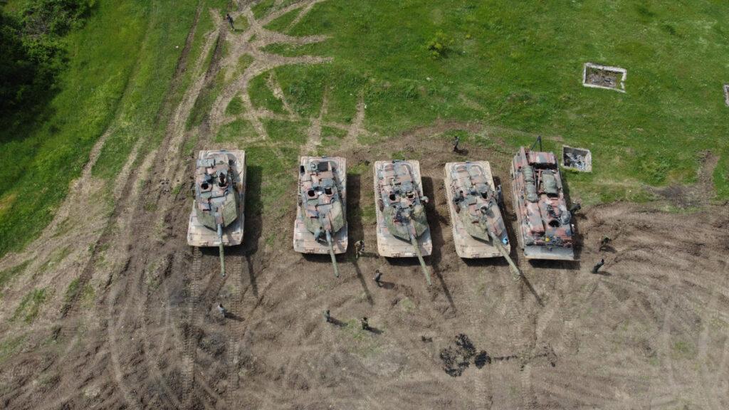 Άρματα Μάχης στην «STRIKE BACK-21» στο Κορέν της Βουλγαρίας (EUROKINISSI / Γ.Τ. ΓΕΣ )