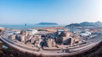Οι εγκαταστάσεις του πυρηνικού σταθμού της Ταϊσάν (Taishan) στη νότια Κίνα