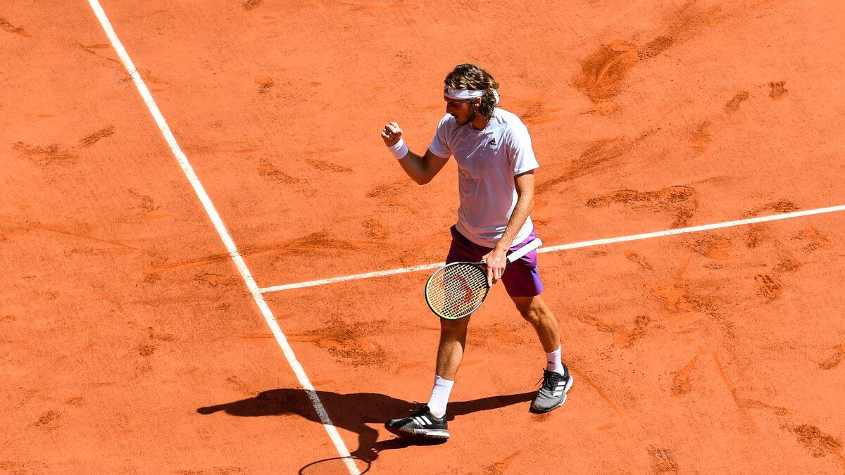 Ο Στέφανος Τσιτσιπάς στο Roland Garros