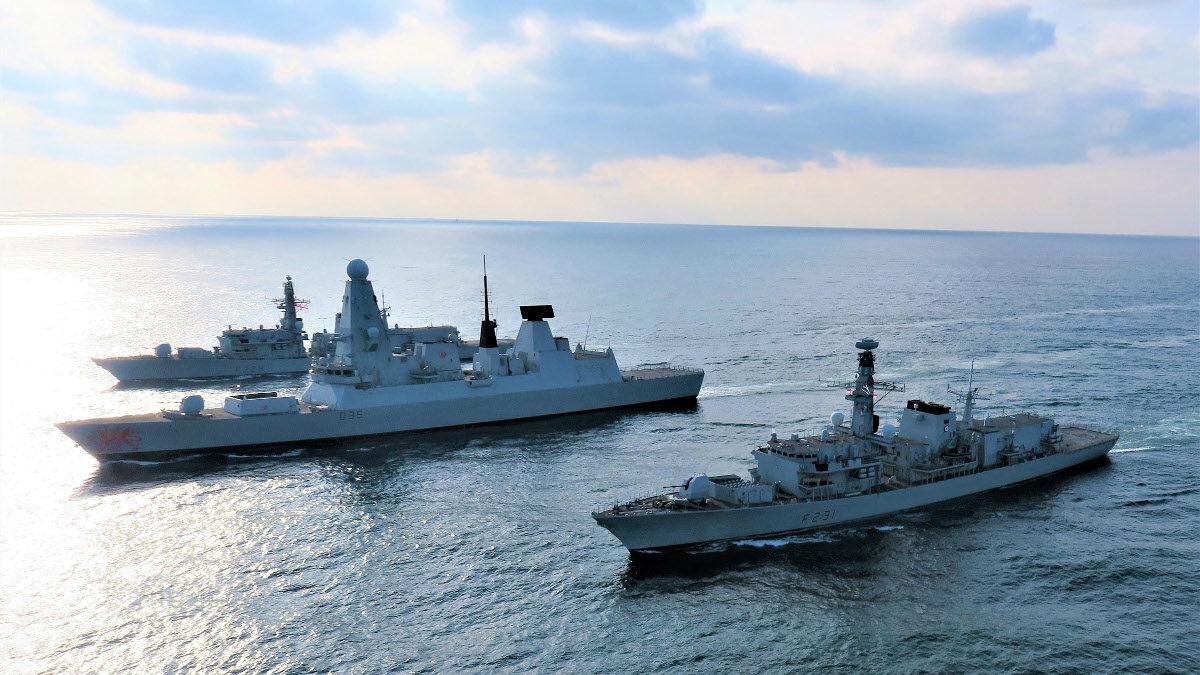 Βρετανικό Πολεμικό Ναυτικό - Φρεγάτες και καταδρομικό