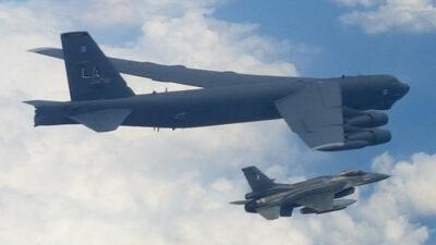 Τη Δευτέρα 31 Μαΐου 2021, Αμερικανικό Στρατηγικό Βομβαρδιστικό της Bomber Task Force τύπου Β - 52 κατά την πτήση του στο πλαίσιο της Επιχείρησης «ALLIED SKY», συνοδεύτηκε από ζεύγος αεροσκαφών F-16, κατόπιν αιτήματος της USEUCOM (US European Command). Τα Ελληνικά μαχητικά ανέλαβαν συνοδευτικό ρόλο του Β-52 εντός του FIR Σκοπίων συνεχίζοντας στο FIR Αθηνών, με διαδρομή άνωθεν Θεσσαλονίκης, Βορείων Σποράδων, Αθηνών, Κυκλάδων, Κρήτης, οπότε και εξήλθαν στα ΝΑ όρια του. Η πτήση στο FIR Σκοπίων πραγματοποιήθηκε στο πλαίσιο Συμφωνίας Αεροπορικής Αστυνόμευσης της χώρας μας με την Δημοκρατία της Βόρειας Μακεδονίας.