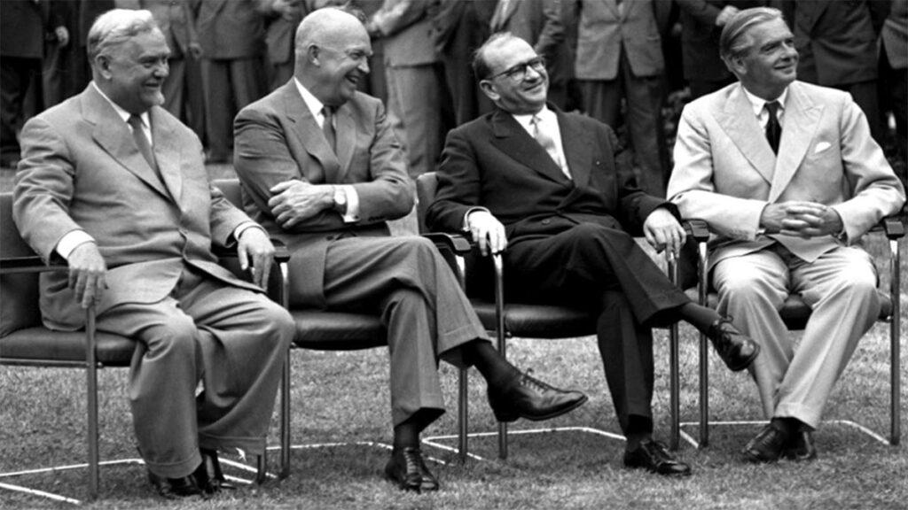 ΕΣΣΔ - ΗΠΑ - Μ. Βρετανία - Γαλλία - Διάσκεψη της Γενεύης, 1955