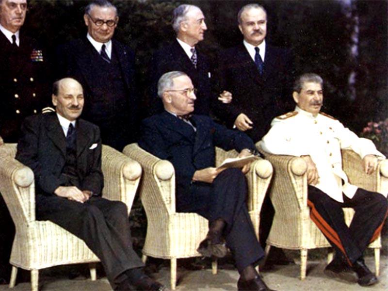 Β'ΠΠ - Διάσκεψη του Πότσδαμ - Διαίρεση της Γερμανίας