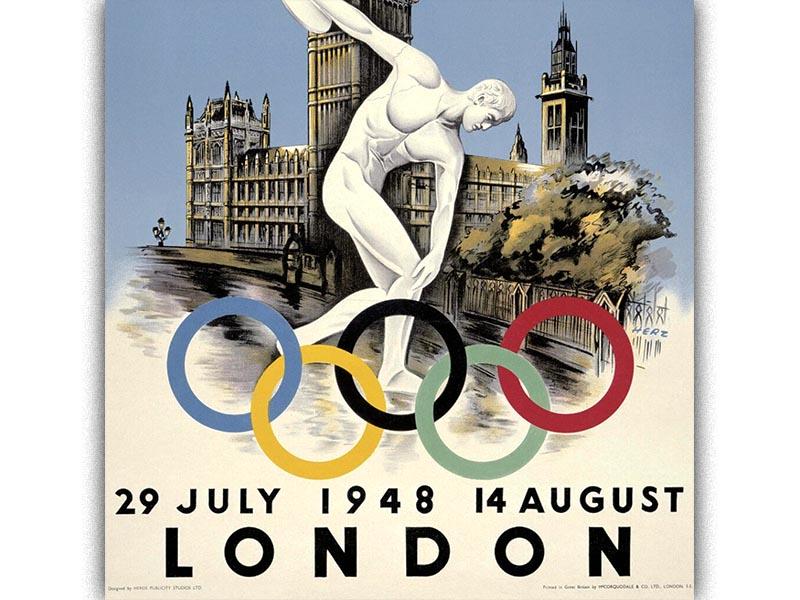 Αθλητισμός - Ολυμπιακοί Αγώνες - Λονδίνο, 1948