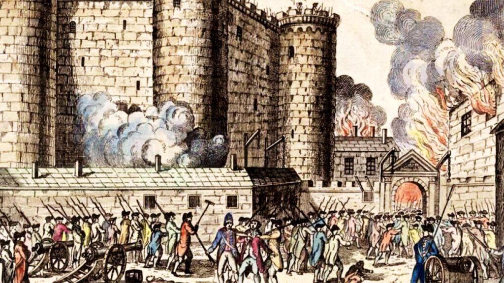 Γαλλική επανάσταση - Η άλωση της Βαστίλης