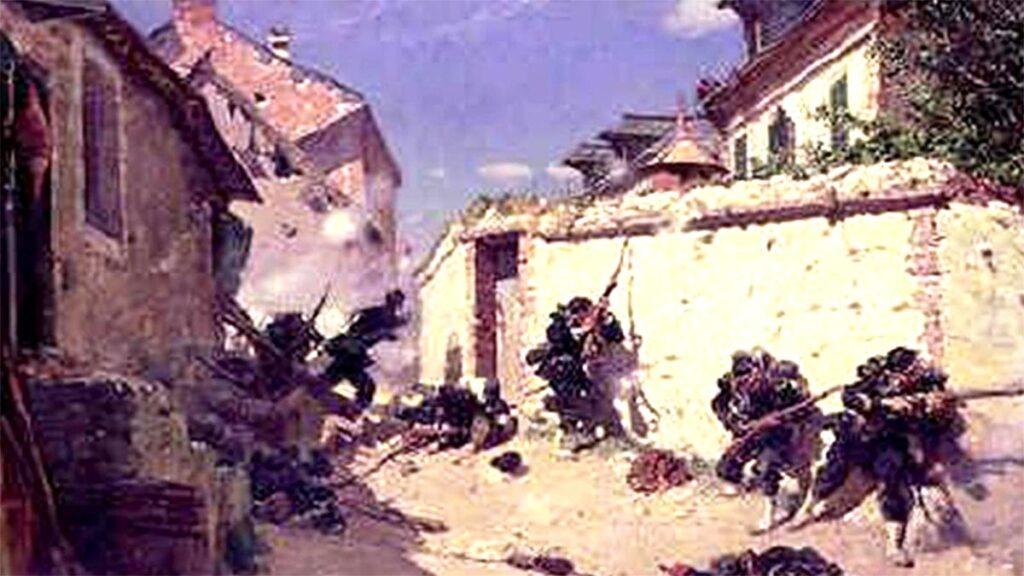 Γαλλία - Πρωσία - Πόλεμος, 1870, Μάχη του Μετς